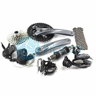 New 2015 Shimano Acera M3000 Shadow Groupset MTB City Group set 3x9-sp
