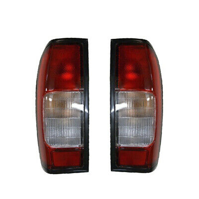 Pair Of Rear Tail Lamps RH+LH For Nissan Navara D22 2.5TD  98>+ DOUBLE/KING CAB