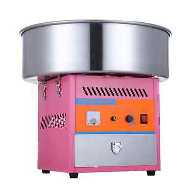 New Electric Commercial Candy Floss Making Machine Cotton Sugar Maker 220Vm