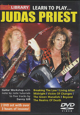Learn to Play Judas Priest Lick Library Guitar DVD Set Danny Gill