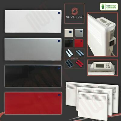"""""""NOVA LIVE"""" Designer Electric Convector Panel Heaters (Wall or Floor Mounted)"""
