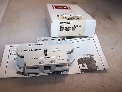 New Cutler Hammer 1 No Motor Starter Auxiliary Contact C320Kg1