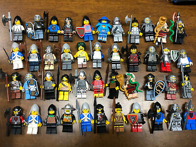 Lego 1x Minifig Knight Castle Kingdoms Guard Soldiers Viking Weapon