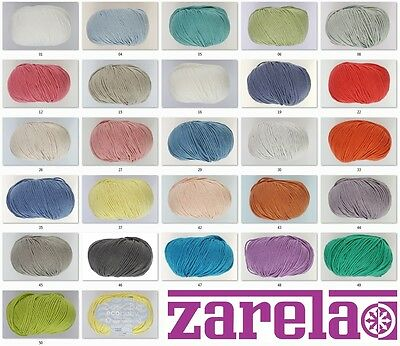 Debbie Bliss Eco Baby 100% Organic Cotton Knitting Yarn/wool   ***all Colours***