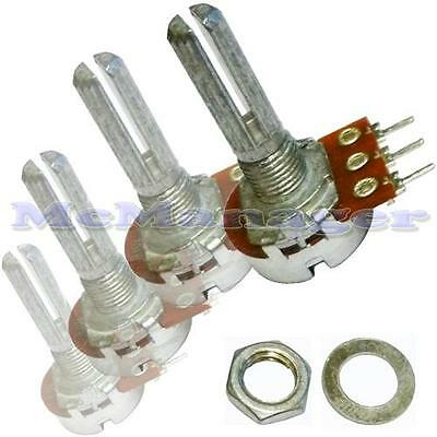 Range of Mono Lin/Linear Log/Logarithmic Mixer/Volume/Tone Potentiometers