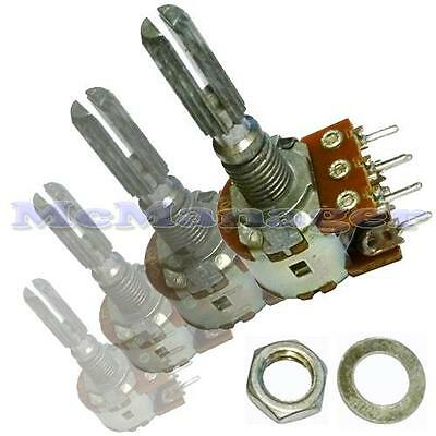 Range of Mono Lin/Linear Mixer/Volume/Tone Potentiometers With Switch