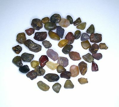 Srilankan River Mined Mix Spinel Lot. Vibrant Colors 25 - 100 Ct. Untreated AU