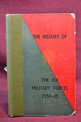 Scarce Vintage Book History of Fiji Military Forces 1939-1945 by RA Howlett 1948