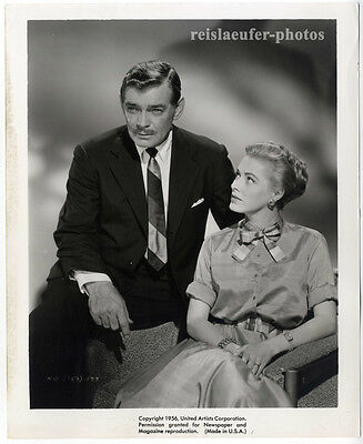 Clark Gable & Eleanor Parker, The King and 4 Queens, Promo-Photo, von 1956