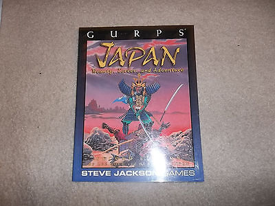 Gurps Japan 2nd Edition