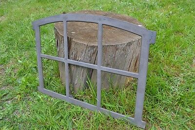 567 x 423mm Natural colour New Antique Cast Iron Window Frame-BUY DIRECTLY-KK101