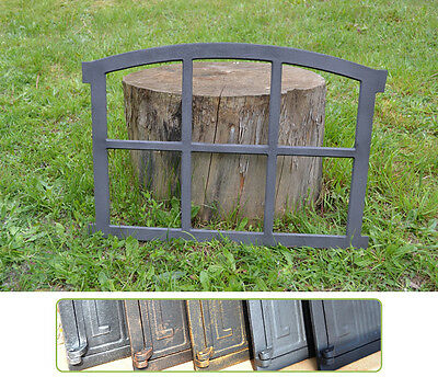 567 x 423mm New Antique Cast Iron Window Frame - 6 Colors ! - BUY DIRECTLY-KK101