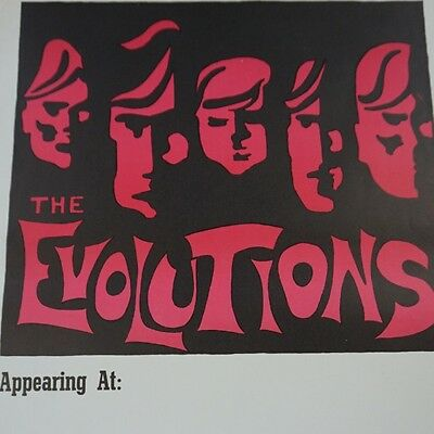 The Evolutions - Limited edition Vintage poster Jack Green