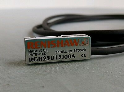 Renishaw RGH25U15J00A Readhead Linear Encoder with 5' Cable 15-Pin D-Sub