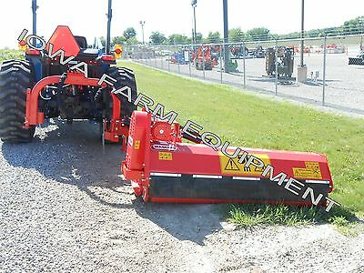 "Flail Ditch Bank Mower: Maschio Girafetta 180SI 70"" Cut,40HP+,Adjust On The Fly!"