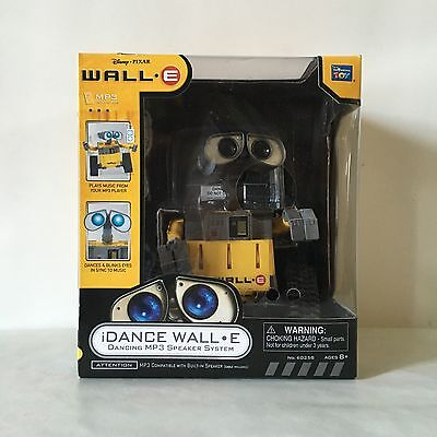 New Rare Original Wall-E WallE Disney Pixar iDance Mp3 Speaker System Toy Music