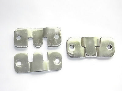 20pcs stainless steel picture painting frame fittings Bracket Mounts brace Hook