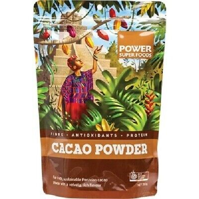 Cacao Powder 250g Certified Organic PSF POWER SUPER FOODS Chocolate