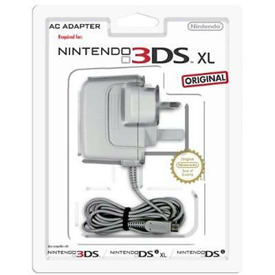 Official Nintendo Power Adapter/Wall Charger for Nintendo 2DS 3DS XL DSi Console