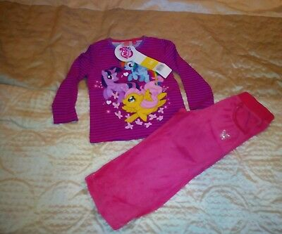 BNWT My Little Pony top + trousers 3 years outfit (b313)