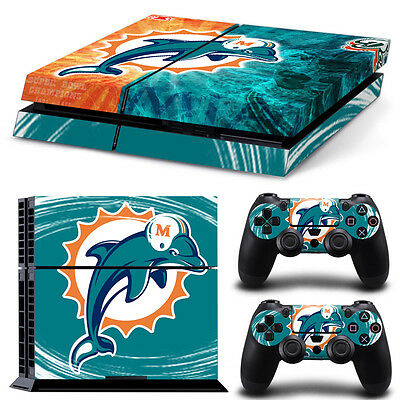 Faceplates, Decals & Stickers Surfing Dolphins Ps4 Skin Vinyl Decal Playstation 4 Console Designer Sticker 128