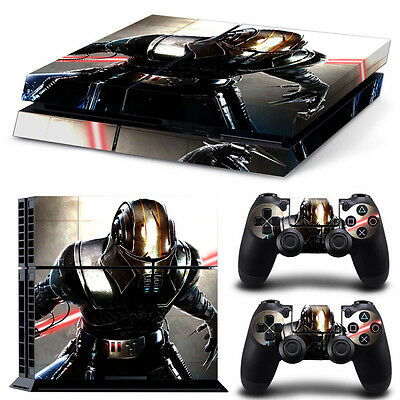 PS4 Skin & Controllers Skin Vinyl Sticker For PlayStation 4 Kylo Ren  Sith Fight