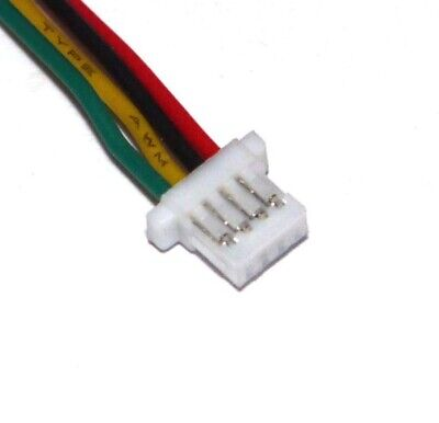 SH 1.0 mini micro jst connector 2 3 4 5 6 Pin leads 100mm 28 AWG wire PCB header