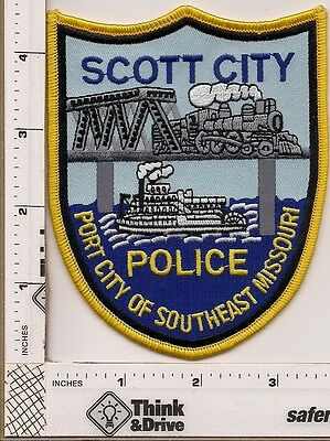 Scott City Police. Missouri.