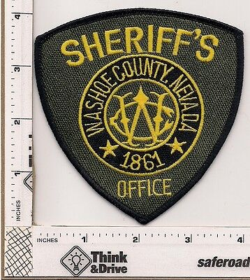 Washoe County Sheriffs Office. Nevada.