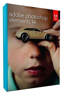 ADOBE PHOTOSHOP 14 (PC/MAC) Photo Editing Software, New Retail Boxed