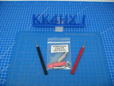 Deluxe VTVM Probe Parts Kit - Test Probes/Plug/Resistor/Clip/More - Heathkit