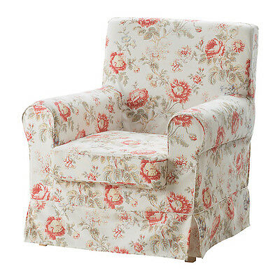 Ikea Ektorp Jennylund armchair COVER ONLY Byvik Floral New 702.240.92