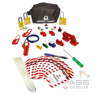LOTO Miniature Circuit Breaker (MCB) Lockout Kit