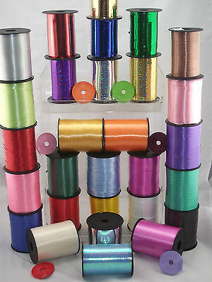 25 metre Balloon Curling Ribbon - 32 Colours - Buy 2 get 1 FREE!