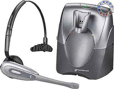 Plantronics CS60 Wireless Headset + Docking Station - Inc VAT & Warranty
