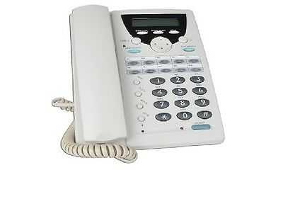 NEW - VoIP H.323 Desktop IP Phone w/Digital Answering System - White - Canada