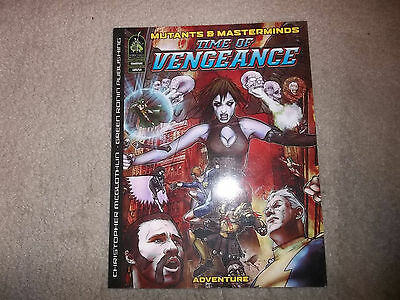 Mutants and Masterminds Time of Vengeance