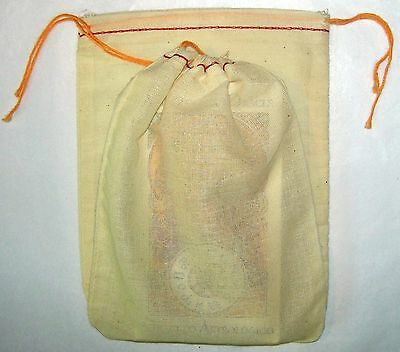 Cotton Drawstring Tarot Pouch Extra Large