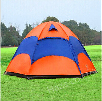 New 5-8 Person Family Instant Tent Hiking Camping Outdoor Waterproof Season