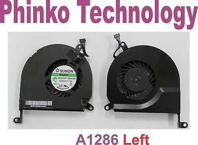 "NEW Apple MacBook Pro UNIBODY 15"" A1286 LEFT Cooling Fan"