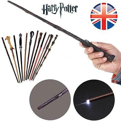 LED Harry Potter Hermione Dumbledore Sirius Voldemort Magic Wand In Gift Box