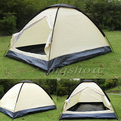 2 Man Person Berth Dome Camping Tent Waterproof Lightweight Festival Outdoor New