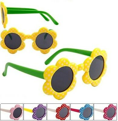 Flower Pot Sunglasses Kids Shades Childrens Toddlers Girls 100% UV400 Protect 79