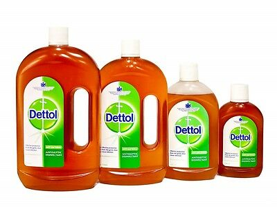 Dettol Antiseptic Disintectant Liquid Chloroxylenol First Aid Medical Hygiene