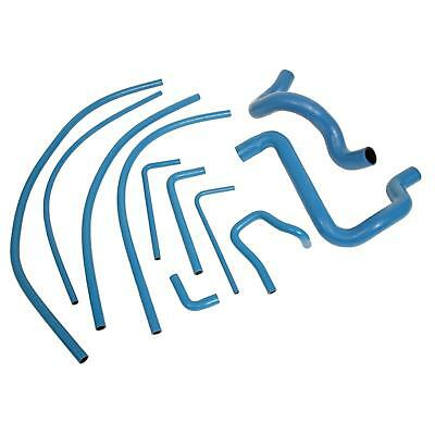 Summit Racing SUM-390208 Radiator Hoses, EPDM/Nomex, Blue, Ford, Kit