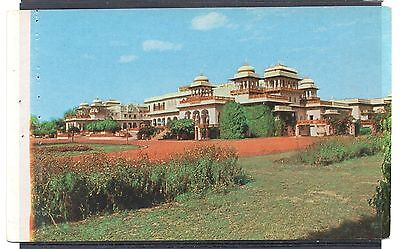 INDIA = Ram Bagh Palace Hotel, Jaipur. c.1960. Unused.