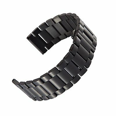 New Motorola Moto 360 Black Stainless Steel Watch Band Replacement -Original
