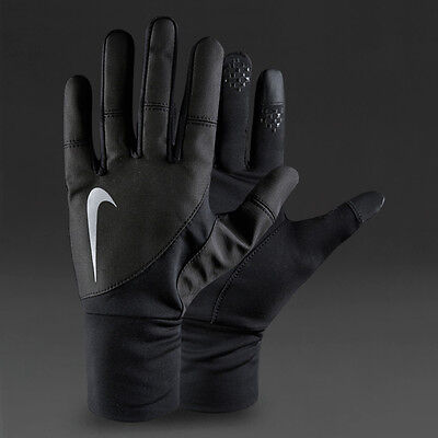 Nike Storm Fit 2.0 Run Gloves, Size XS, S, M or L, Black Mens and Womens