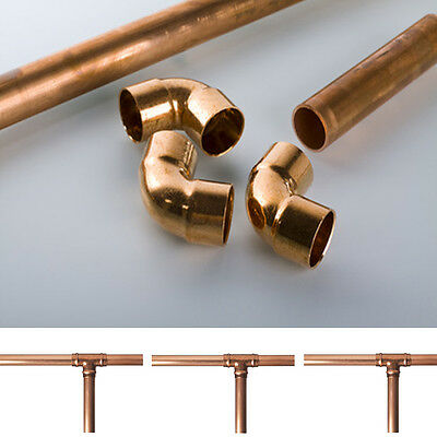 15mm/22mm COPPER TUBE/PIPE PLUMBING/WATER/GAS/DIY/MODELLING BULK DISCOUNT TUBE