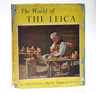 The World of The Leica libro ed. Fountain Press 1950 in inglese   D788